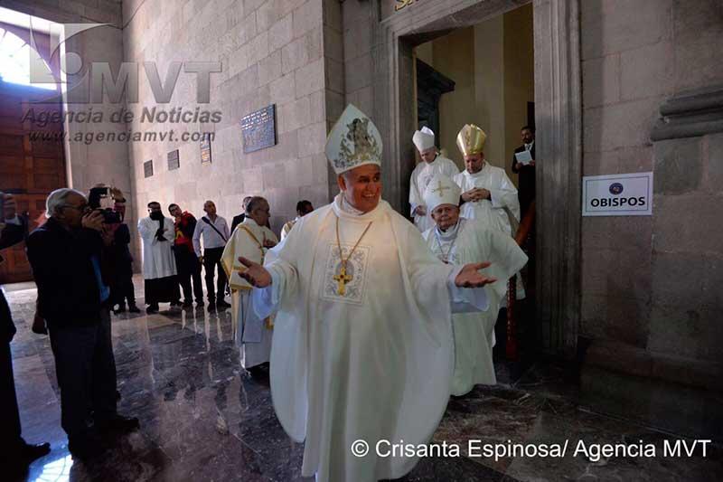 Toluca tiene nuevo Obispo Auxiliar, Maximino Martínez Miranda