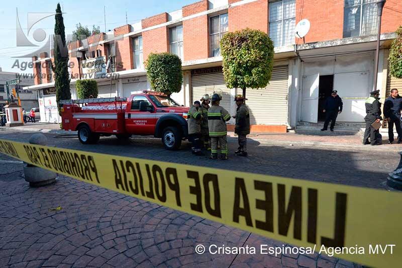 Muere mujer de 75 años por incendio en el centro histórico de Toluca