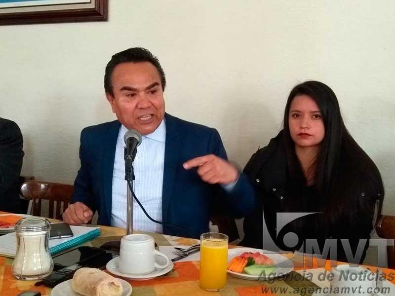 Orquestan plan Efrén Rojas y Ernesto Nemer para hacer perder al PRI, asegura Gómez Aguirre