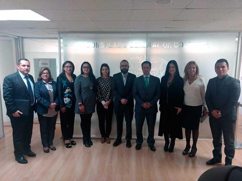 Coordinan acciones contra trata de personas el Edomex y Colombia