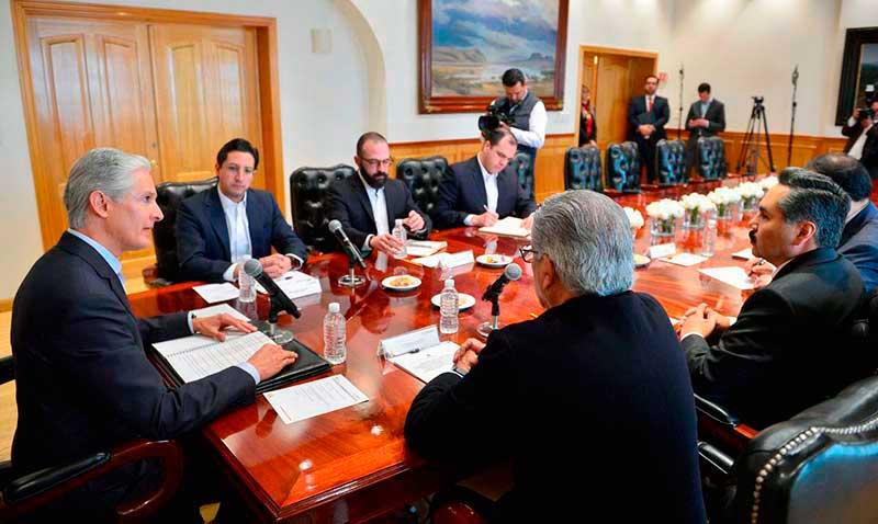 Instruye Del Mazo disciplina fiscal e instala Gabinete Especializado en Finanzas