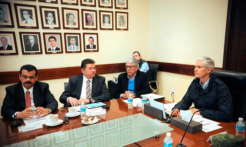 Coordinan acciones autoridades electorales y estatales para comicios en paz
