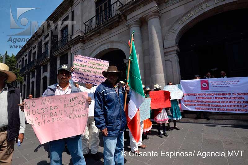 Advierten que radicalizarán exigencia de crear municipio indígena de San Felipe de la Rosa