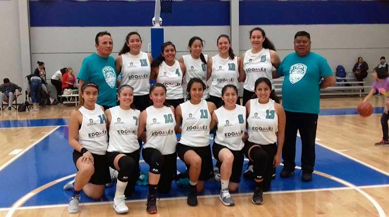 Deportistas de Metepec se integran a Selección Mexiquense de basquetbol para Olimpiada Nacional