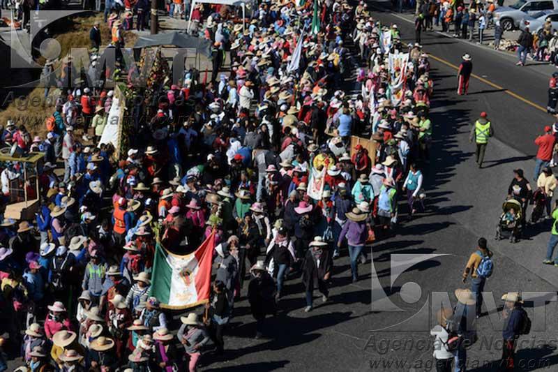 Esperan partan de Toluca más de 10 mil peregrinos al Tepeyac el próximo lunes