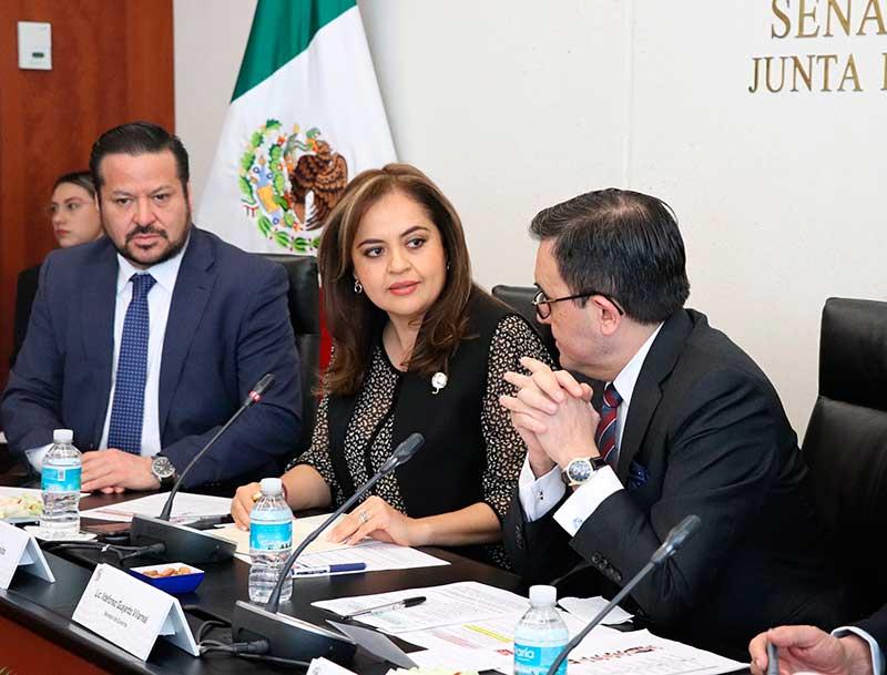 Analizan senadores y secretario de Economía negociaciones del TLC