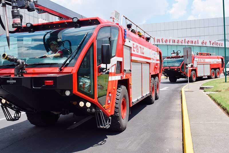 Implementa Aeropuerto de Toluca operativo vacacional de Semana Santa