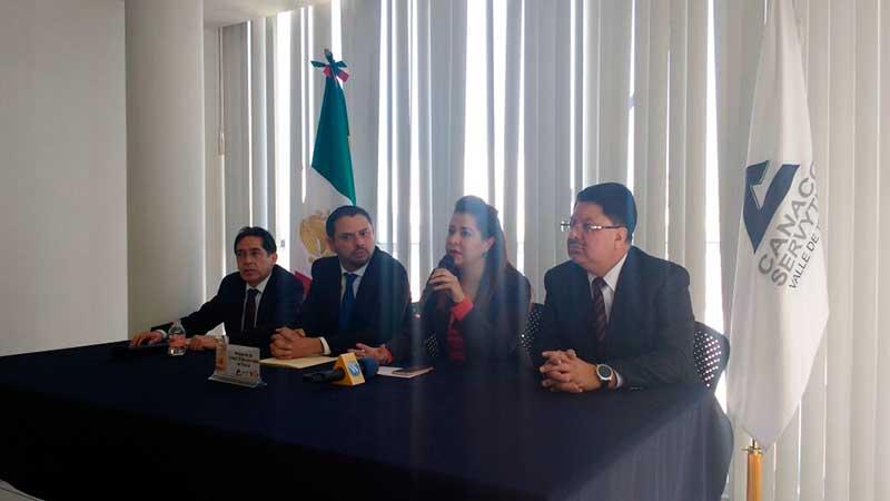 Hay nueva mesa directiva en la Cámara de Comercio del Valle de Toluca