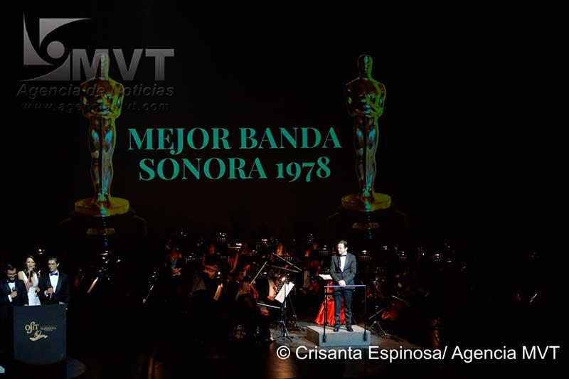 Logra lleno total en gala de premios Oscar la Orquesta Filarmónica de Toluca