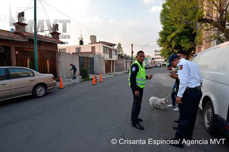 Fuga de gas natural en Toluca provoca gran movilización de equipos de emergencias