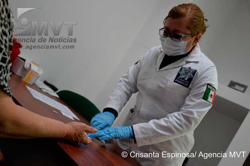 Reúne Policía Federal en Toluca muestras de ADN para identificar personas desaparecidas