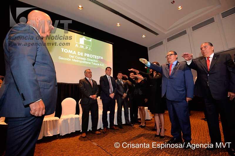 Preside Conrado Rodríguez la Asociación Mexicana de Profesionales Inmobiliarios en el Valle de Toluca