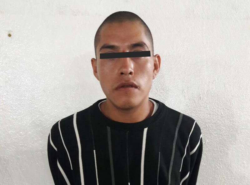 Capturan a sujeto por portar presunta cocaína en la colonia Américas de Toluca