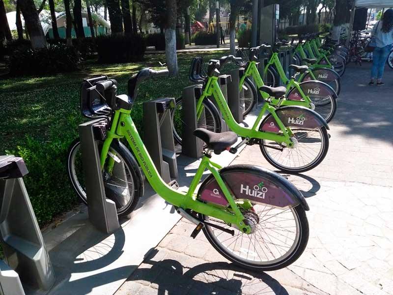 Demandan perredistas convertir la bicicleta pública Huizi en empresa paramunicipal