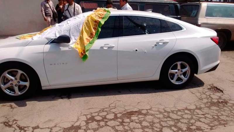 Condena Fiscalía asesinato del comandante José Luis Mendoza; prometen esclarecer el caso