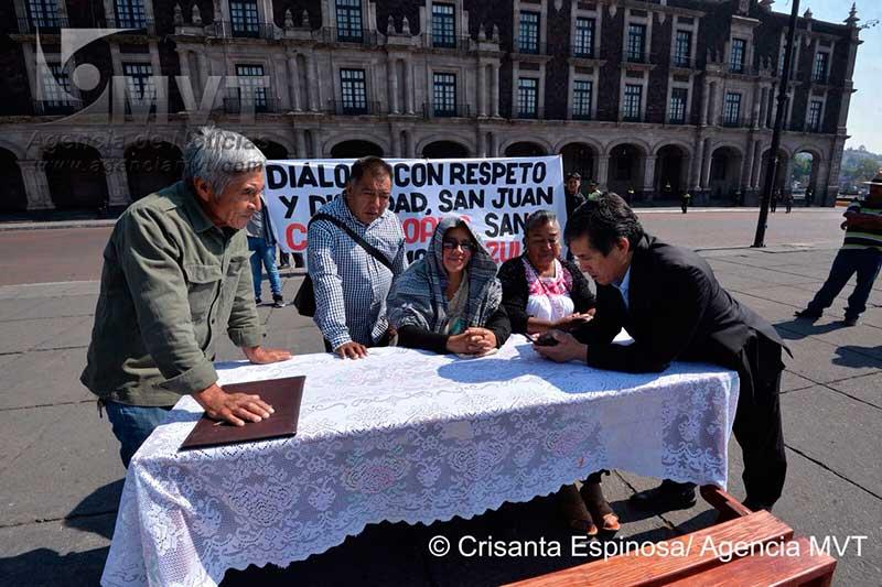 Exigen comuneros de Acazulco retiro de policías y dejar de afectar actividad turística