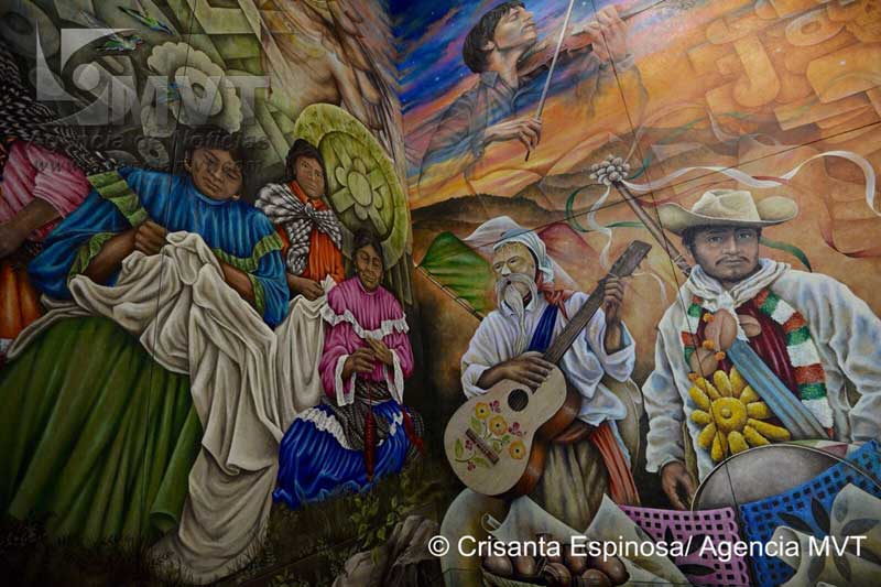 Murales de Palacio de Gobierno narran historia e identidad de los mexiquenses