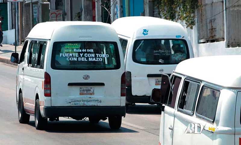 Prevén que irregularidades en transporte público queden solucionadas en un año