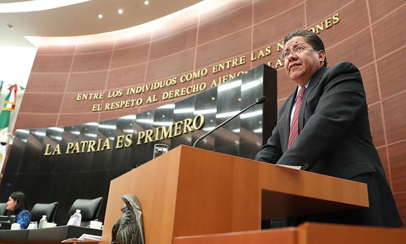 Senado plural y austero: Ricardo Monreal
