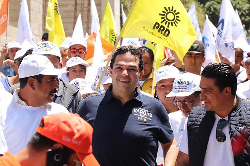 En caso de ganar elección en Huixquilucan, Enrique Vargas culminará actual gestión