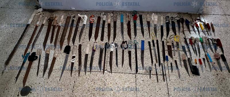 Repiten cateo en Penal de Santiaguito y decomisan más droga y armas