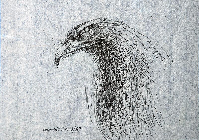 Humedad pone en riesgo los bocetos del artista Leopoldo Flores