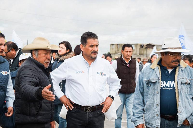 Solicita Gerardo Pliego a vecinos de San Carlos Autopan no vender su voto