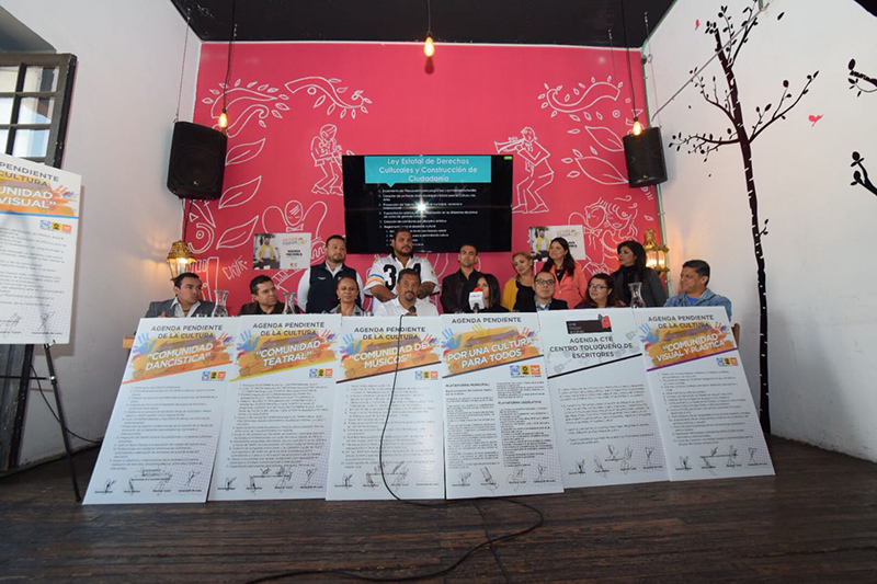 Presenta Gerardo Pliego plan de Plataforma Municipal de Cultura