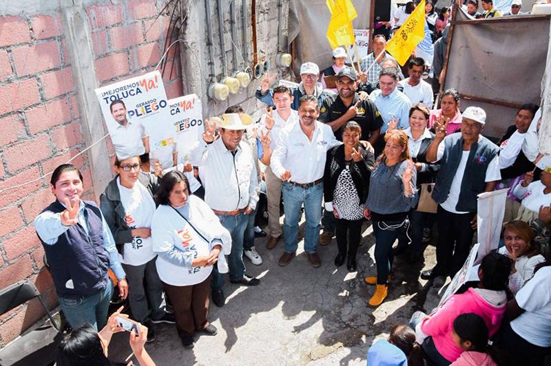Considera Gerardo Pliego que declinaciones panistas no afectan su campaña