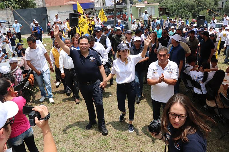 Augura Enrique Vargas más obra pública para Huixquilucan