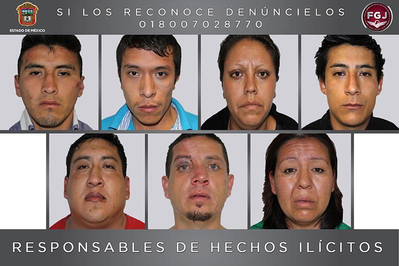 Por secuestro en Calimaya, 7 personas fueron sentenciadas a 70 años de cárcel