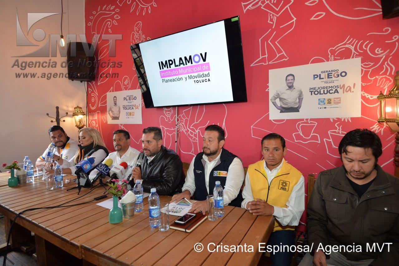 Realizan candidatos del Frente propuestas de desarrollo urbano y movilidad