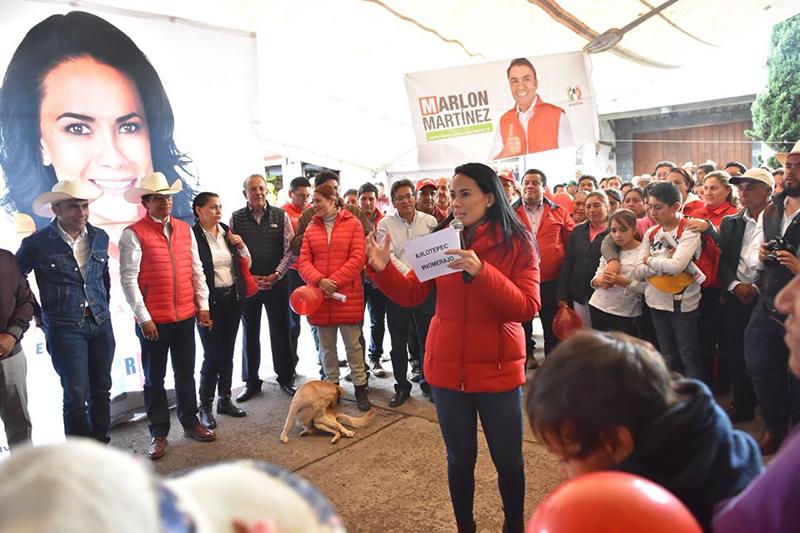 Edoméx requiere de los mejores políticos: Alejandra Del Moral