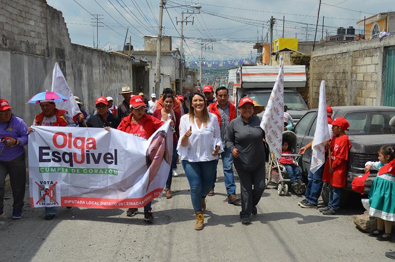 Promoverá Olga Esquivel créditos para mujeres emprendedoras