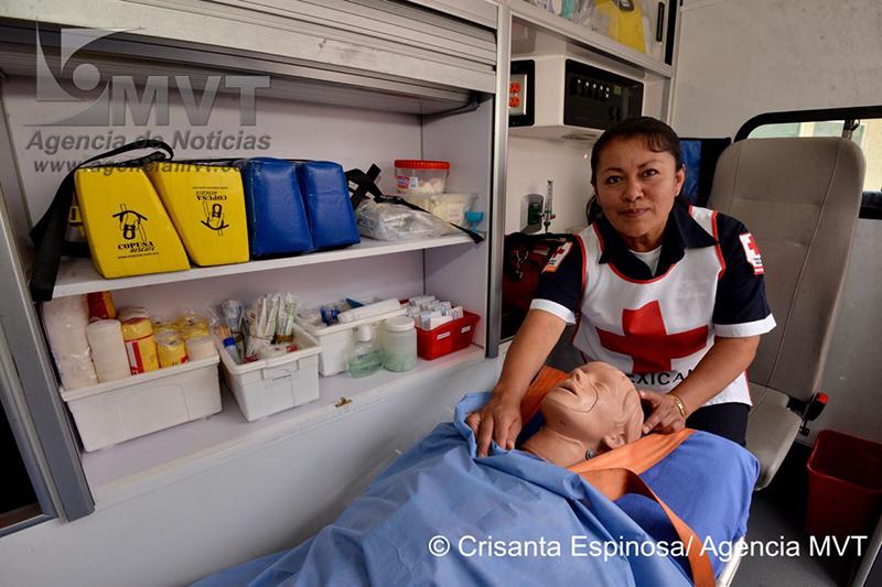 Voluntarios de la Cruz Roja de Toluca: vocación de servicio