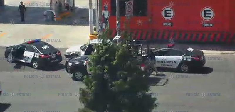 Capturan a presunto asaltante gracias a cámaras del C-5