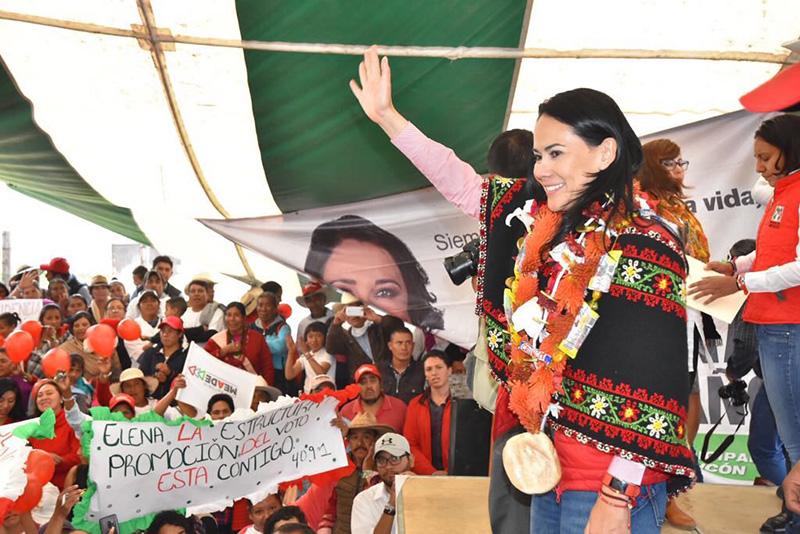 Sostiene Alejandra Del Moral que no hay partido más mexicano y mexiquense que el PRI
