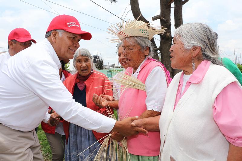 La mejor encuesta es el cariño y el afecto de la gente: Fernando Zamora