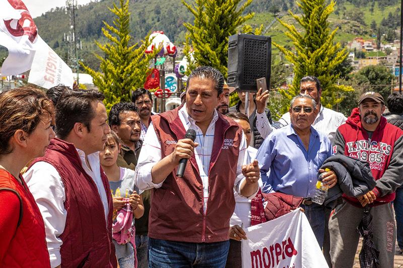 Atiende Juan Rodolfo zona sur de Toluca en la recta final de su campaña