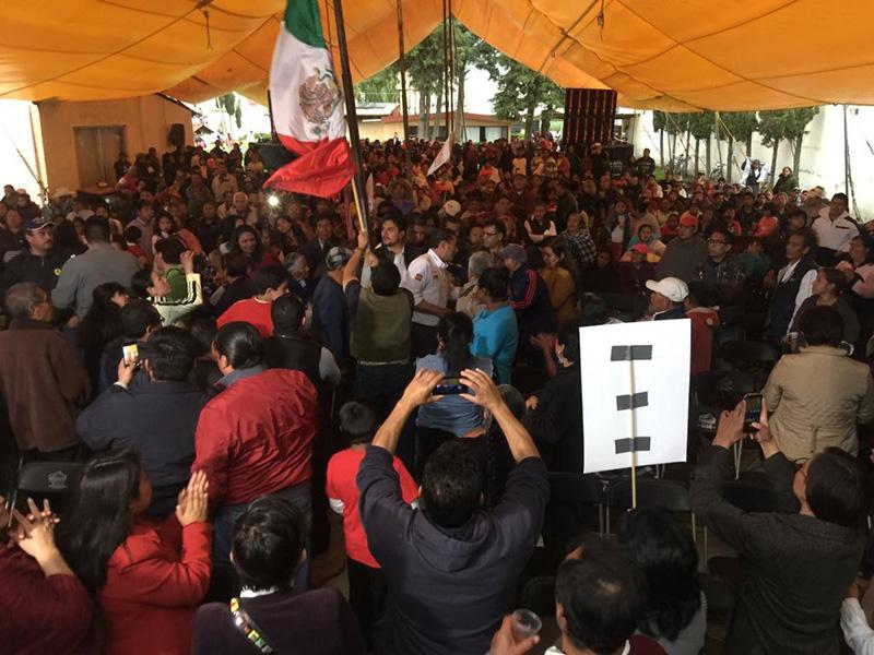 Culmina campaña Juan Rodolfo Sánchez Gómez en San Pablo Autopan