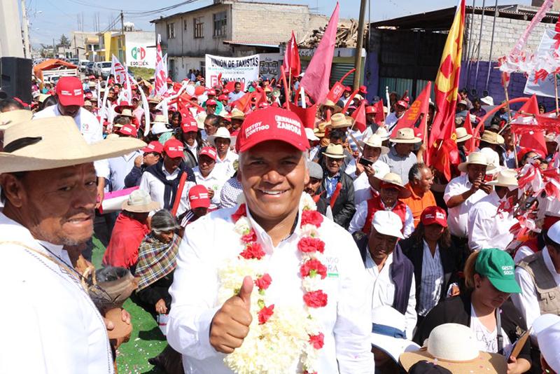 Enfatiza Fernando Zamora visión de gobierno para Toluca