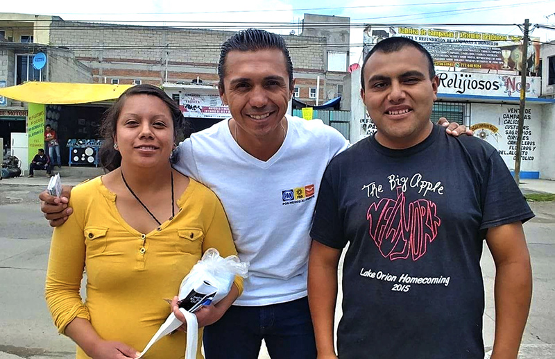 Hace balance positivo Jaime López tras 90 días de campaña por el Distrito 26