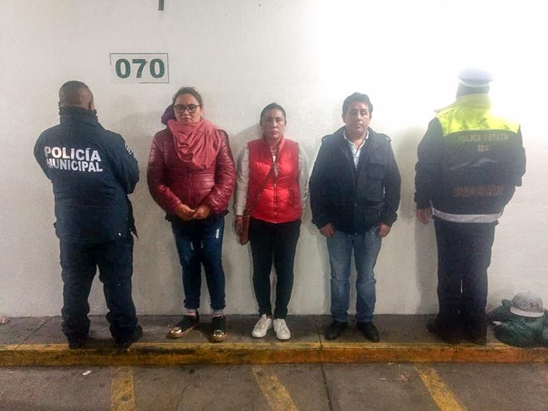 Intercambian acusaciones priistas, morenistas y frentistas en Zinacantepec; hay tres detenidos