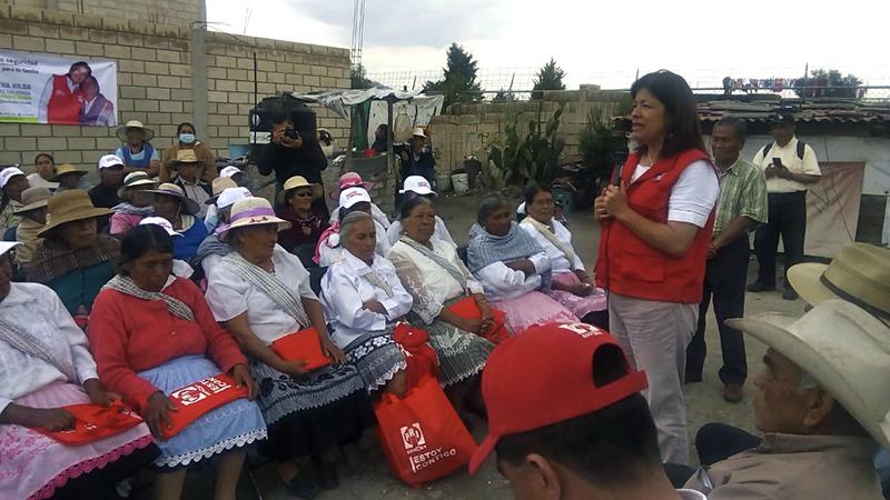 Prevé Martha Hilda González Calderón construir casa para adultos mayores