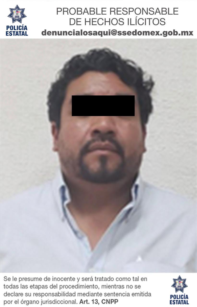 Detienen a ex policía municipal de Toluca que se encontraba prófugo