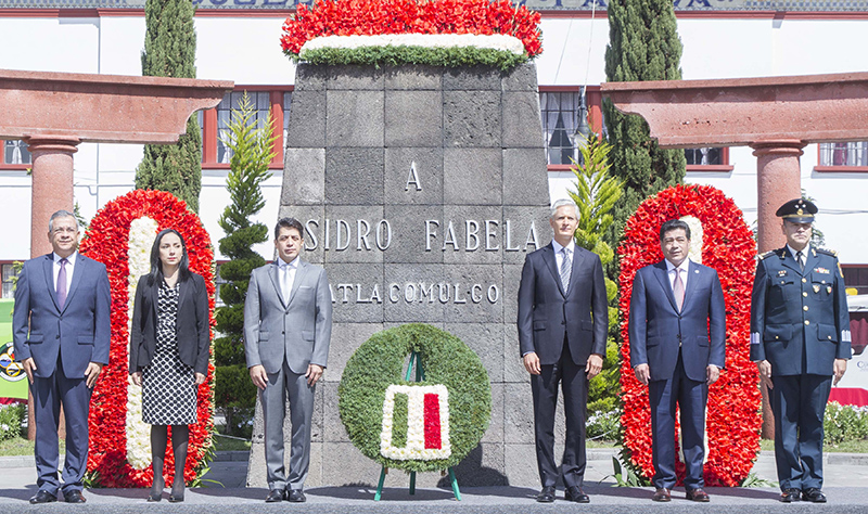 Conmemora gobierno mexiquense 136 aniversario del natalicio de Isidro Fabela