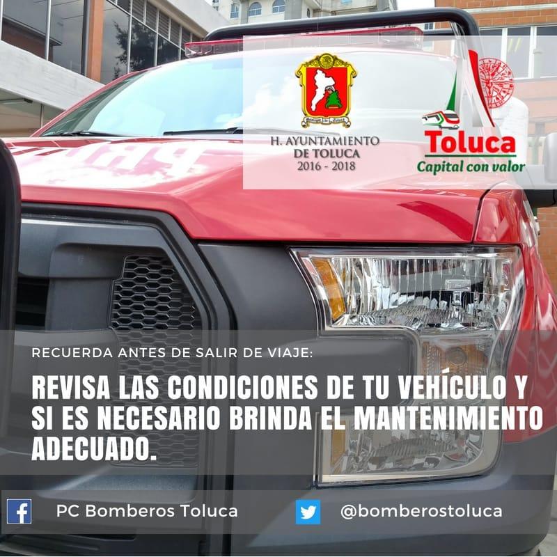 Protección Civil y Bomberos de Toluca emiten recomendaciones para evitar incidentes en vacaciones de verano