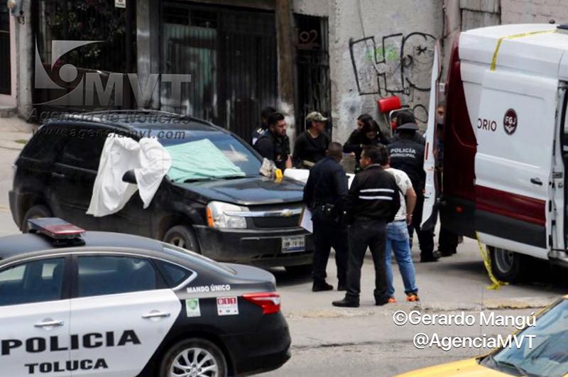 Balean a quemarropa a conductor en Toluca