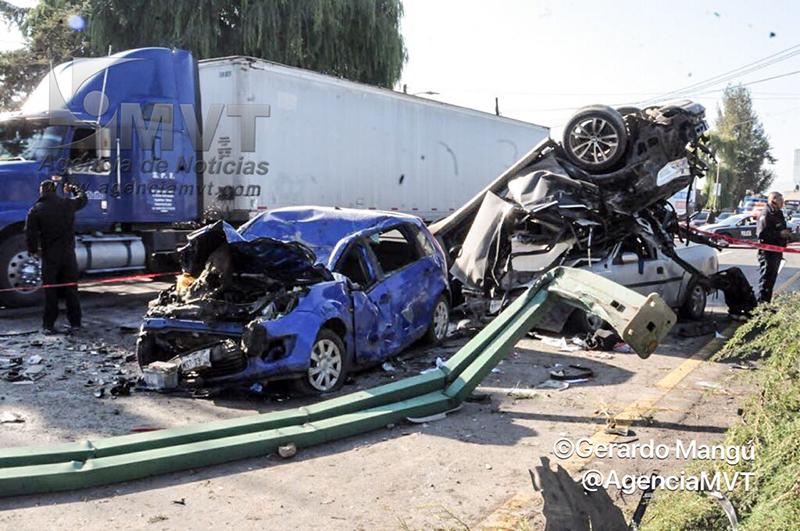 Fallecen dos personas tras percance vial en San Antonio La Isla