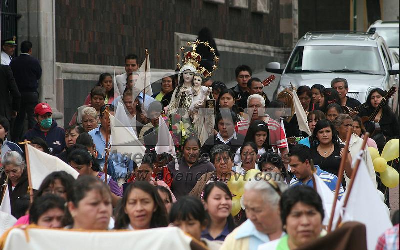 Cerrarán calles del Centro Histórico por procesión de Virgen del Carmen
